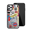 Casetify iPhone 11 Pro Max 輕量耐衝擊保護殼-倫敦印象(黑)