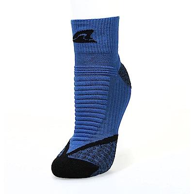 【ZEPRO】男女運動慢跑短襪-深藍