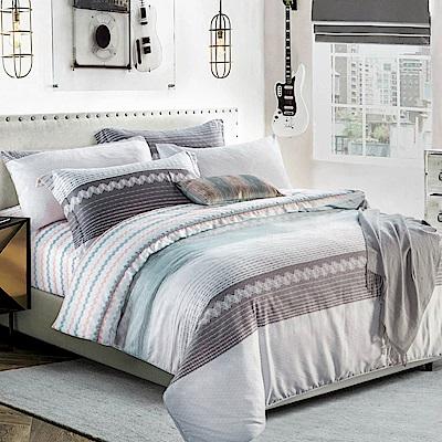 Betrise幽含語  特大-3M專利天絲吸濕排汗四件式兩用被床包組