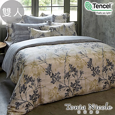 Tonia Nicole東妮寢飾 維也納森林環保印染100%萊賽爾天絲被套床包組(雙人)