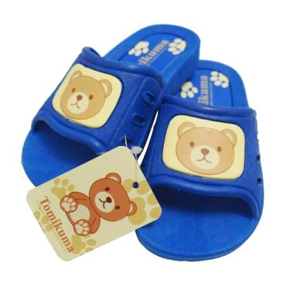 Tomikuma兒童拖鞋-藍色-2雙入