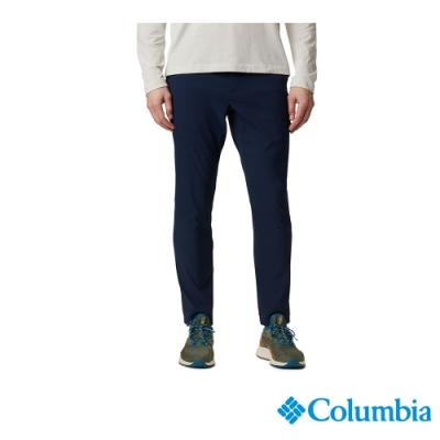 Columbia 哥倫比亞 男款- Omni-Shade 防曬50錐形長褲-深藍 UAE07800NY