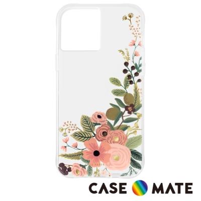 美國 Case-Mate x Rifle Paper Co. 限量聯名款 iPhone 12 Pro Max 防摔抗菌手機保護殼 - 玫瑰花園