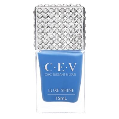 CEV超凝光感指甲油 #6985 藍色公路 (LUXE SHINE)