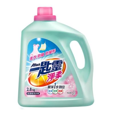 一匙靈 淨柔超濃縮洗衣精 (瓶裝2.8kg)