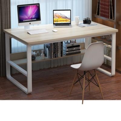 【Incare】高質感-鋼木多用收納工作電腦桌(100公分/3色可選)