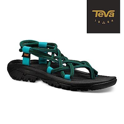 TEVA 美國-女 XLT Infinity 羅馬織帶運動涼鞋 森林綠