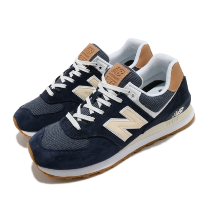 New Balance 休閒鞋 574 Beach Cruiser 男鞋 紐巴倫 經典款 麂皮 簡約 穿搭 藍 黃 ML574TYAD