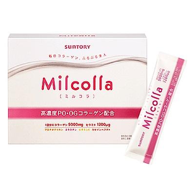 [時時樂限定]SUNTORY三得利 Milcolla 蜜露珂娜膠原蛋白粉(30日份/盒) @ Y!購物