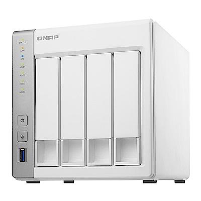 (無卡分期)【促銷組合】QNAP TS-431P 網路儲存伺服器+WD 4TB*2