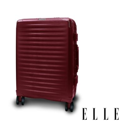 ELLE Louvre-羅浮宮系列-28吋輕量PC材質行李箱-拿破崙紅  EL31258