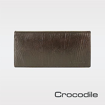 Crocodile Super Gaucho 牛頸紋系列長夾 0103-08901