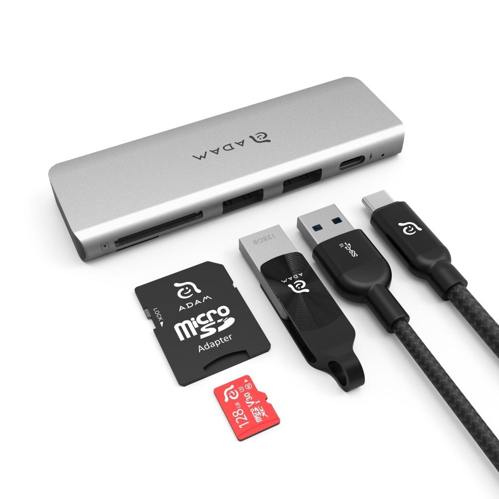 亞果元素 CASA Hub 5E USB3.1 USB-C 5 port 多功能集線器