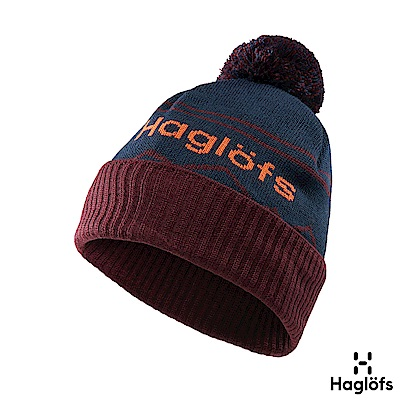 Haglofs Stipe 羊毛保暖毛球帽 塔恩藍/茄子紫
