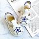 Swan天鵝童鞋-城市星空寶寶涼鞋1600-白 product thumbnail 1