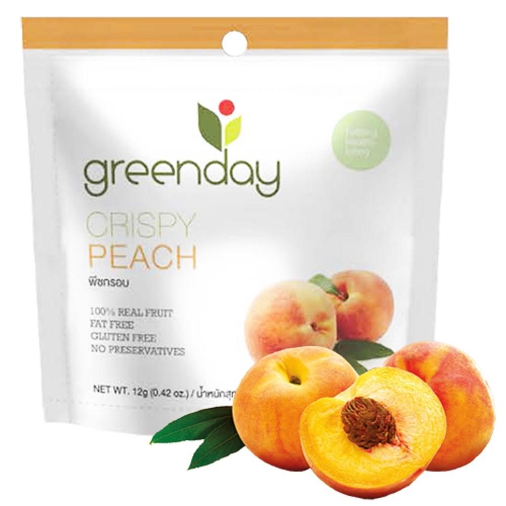 Greenday 水蜜桃凍乾(12g)