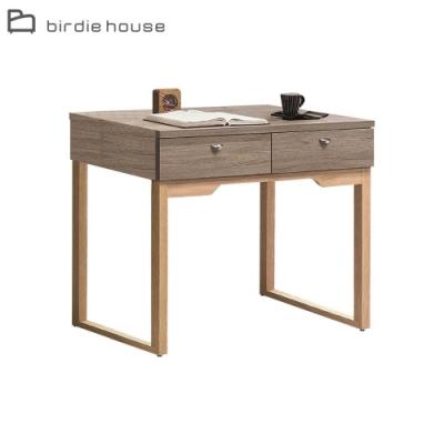 柏蒂家居-喬伊斯3.3尺二抽書桌/工作桌(不含桌上架)-100x60x79cm