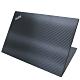 EZstick Lenovo ThinkPad T495 黑色立體紋機身貼 product thumbnail 2