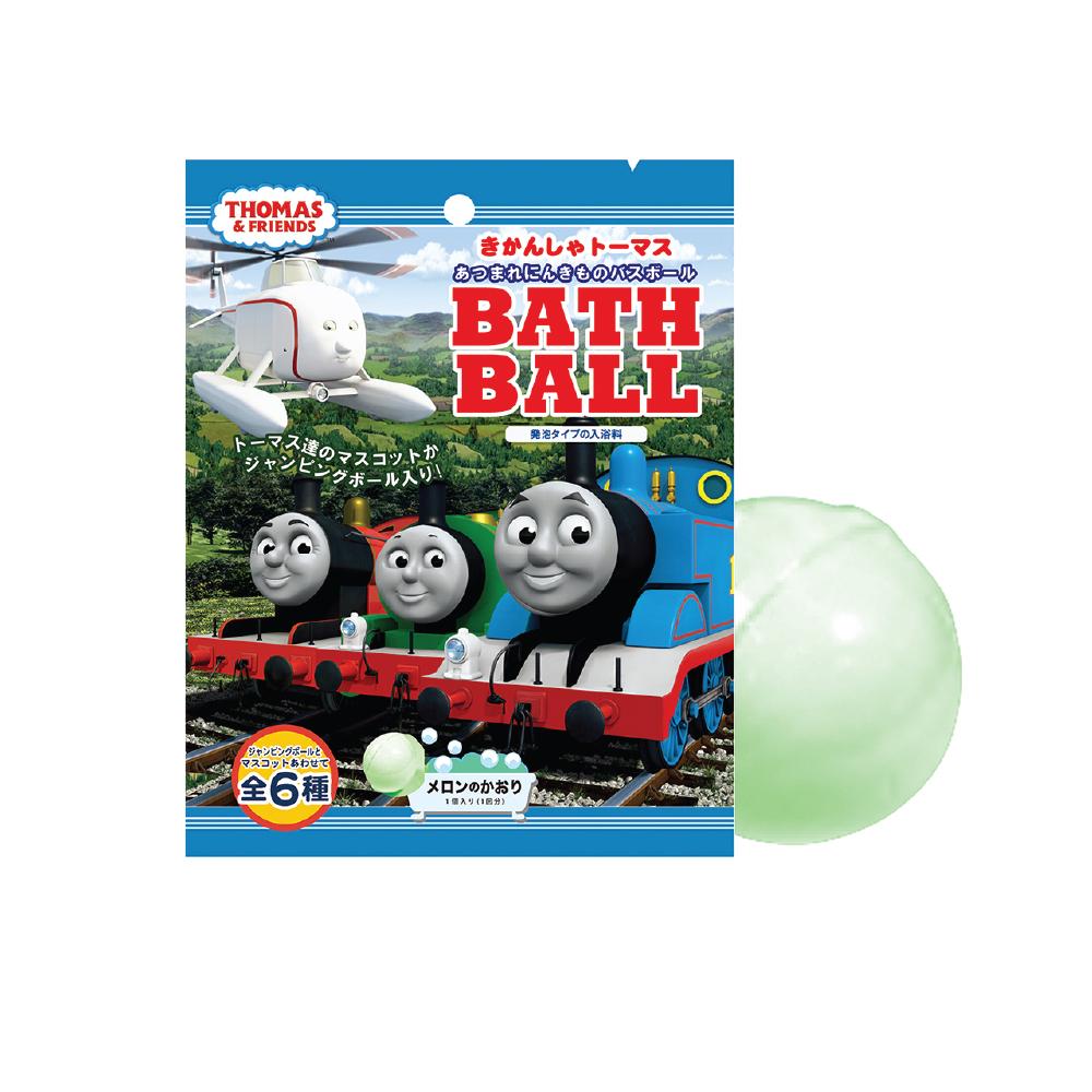 日本NOL-湯瑪士小火車大集合泡澡球1入(附可愛公仔/聖誕禮物/交換禮物/泡澡)