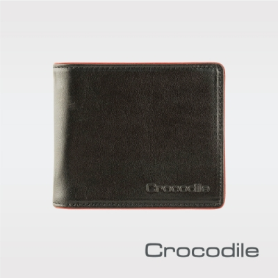 Crocodile Square Edge系列 中翻短夾 0103-09102