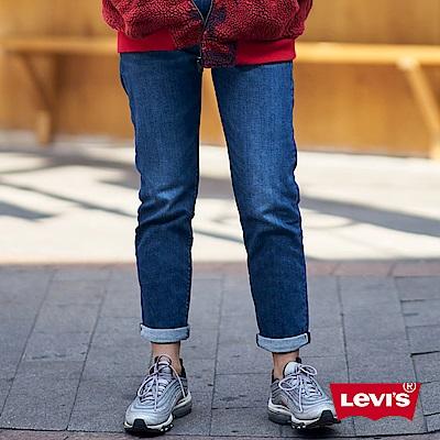Levis 男友褲 中腰寬鬆版牛仔長褲 金赤耳 彈性布料
