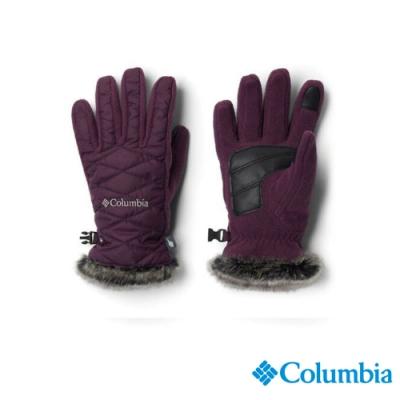 Columbia 哥倫比亞 中性-  防潑手套- 暗紫 UCL00710DL