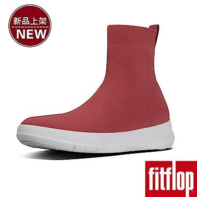 FitFlop UBERKNIT SOCK BOOTS-熱情紅