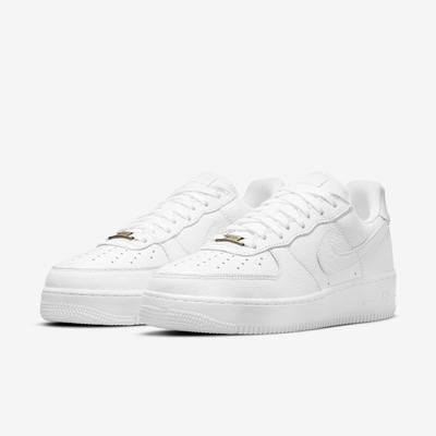 Nike 休閒鞋 Air Force 1 Craft 男鞋 經典款 皮革 質感 簡約 球鞋 穿搭 全白 CU4865100