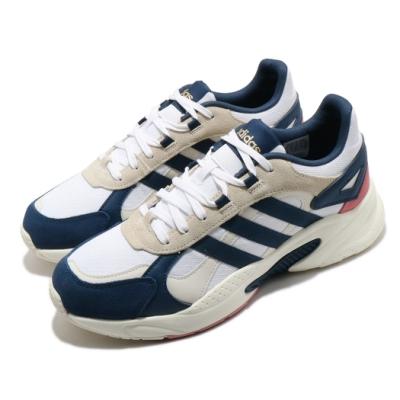 adidas 休閒鞋 Crazychaos Shadow 男鞋 愛迪達 復古慢跑鞋 柔軟 避震 跑步 球鞋 白 藍 FZ2233