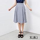 KiKi INLook 海軍風條紋長裙(二色)
