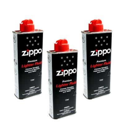 ZIPPO 正廠打火機專用補充油~3罐優惠價(懷爐也可用)