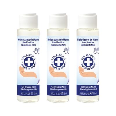 三入組 AIR-VAL 75%酒精乾洗手香氛凝露 75ml
