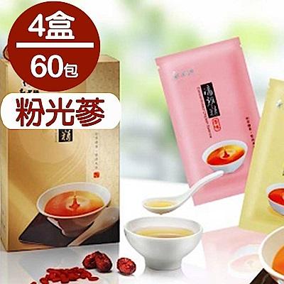 郭老師 養生滴雞精 粉光蔘(80ml*15包/盒)(4盒)