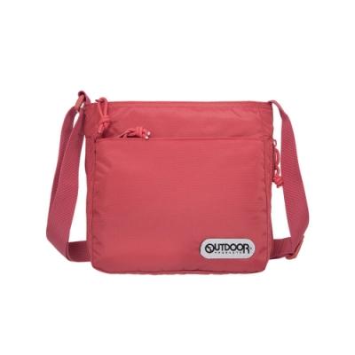 【OUTDOOR】側背包-粉紅色 OD101120PK