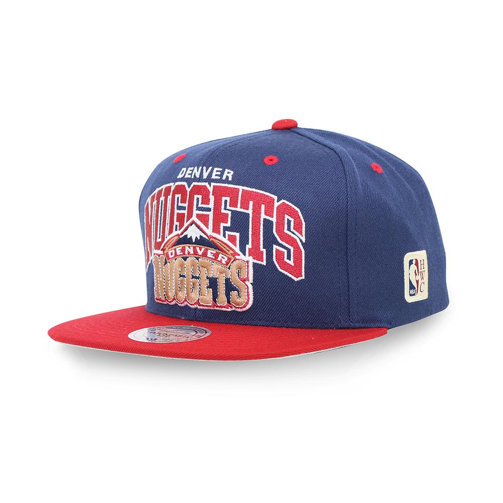 M&N NBA 復古隊徽棒球帽 金塊隊
