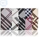 Apple iPhone  11 Pro 5.8吋 英倫格紋氣質手機皮套5色可選