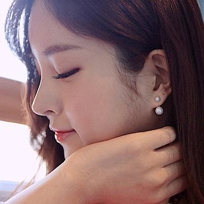 梨花HaNA 韓國925銀針那年冬天風在吹雙珍珠耳環