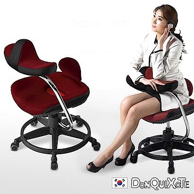 DonQuiXoTe-韓國原裝Reverse智慧工學椅-棗紅