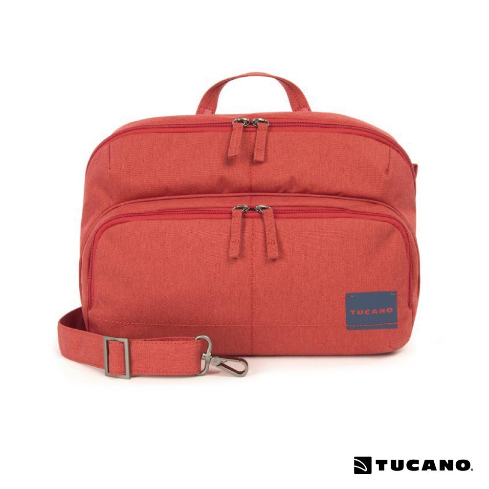 TUCANO CONTATTO DIGITAL BAG 休閒相機兩用包 (M)-紅