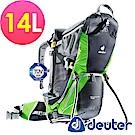 【ATUNAS 歐都納】德國DEUTER 行動嬰兒背架背包14L(36504灰/綠)