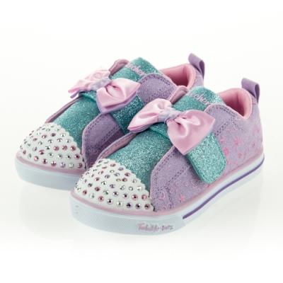 SKECHERS 女嬰童系列 燈鞋 SPARKLE LITE - 20261NLVPK