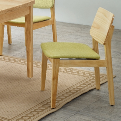 H&D 紐松木814型餐椅