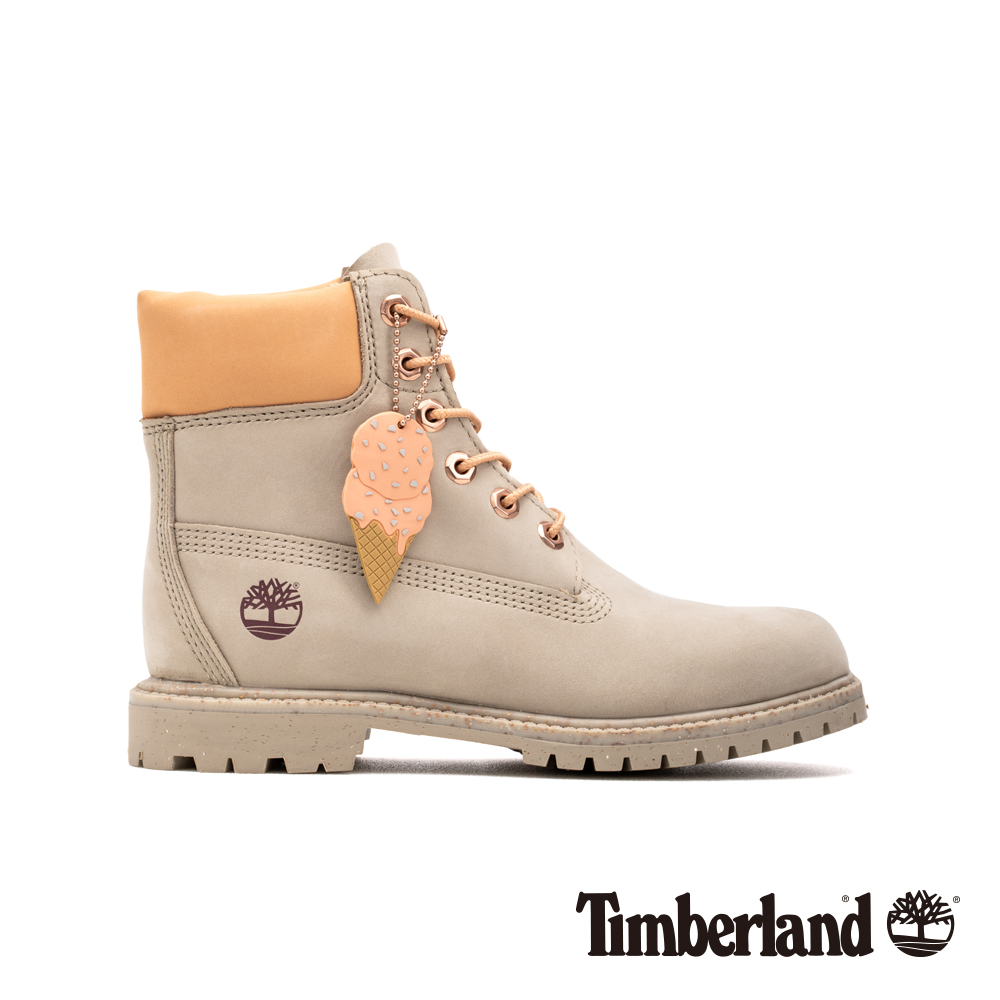 Timberland 女款淺褐色磨砂革冰淇淋系列6吋靴 A1W16