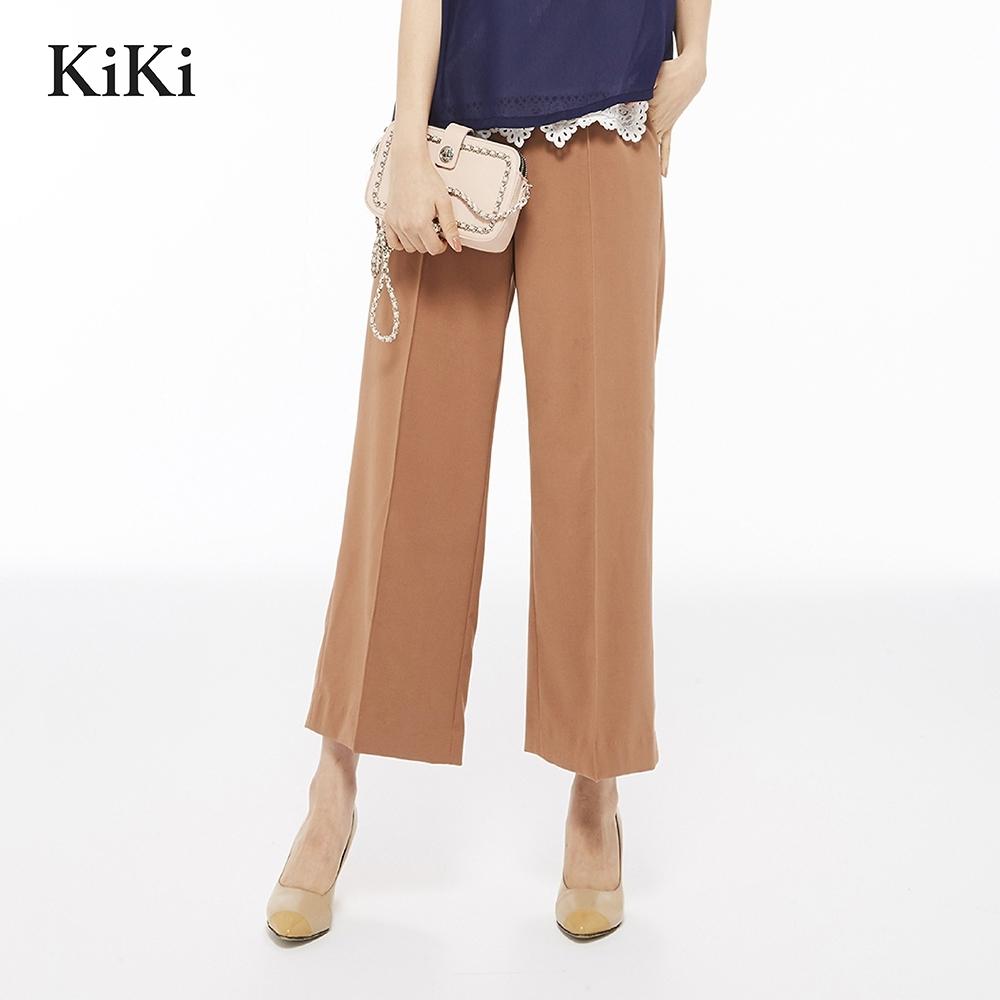 【Kiki】 上班族質感挺版-長褲(二色)