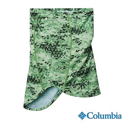 Columbia 哥倫比亞 中性-UPF50涼感快排防潑頸圍-綠紋UCU01340