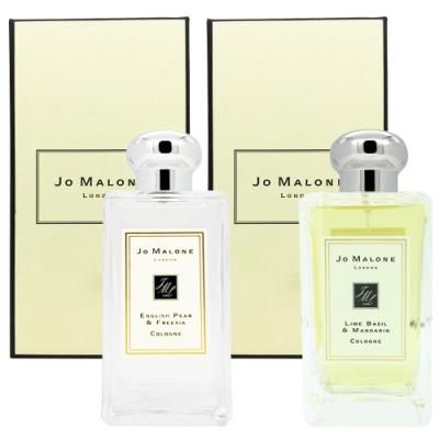Jo Malone香水100ml多款任選(英國梨與小蒼蘭/鼠尾草與海鹽/青檸羅勒與柑橘/藍風鈴)
