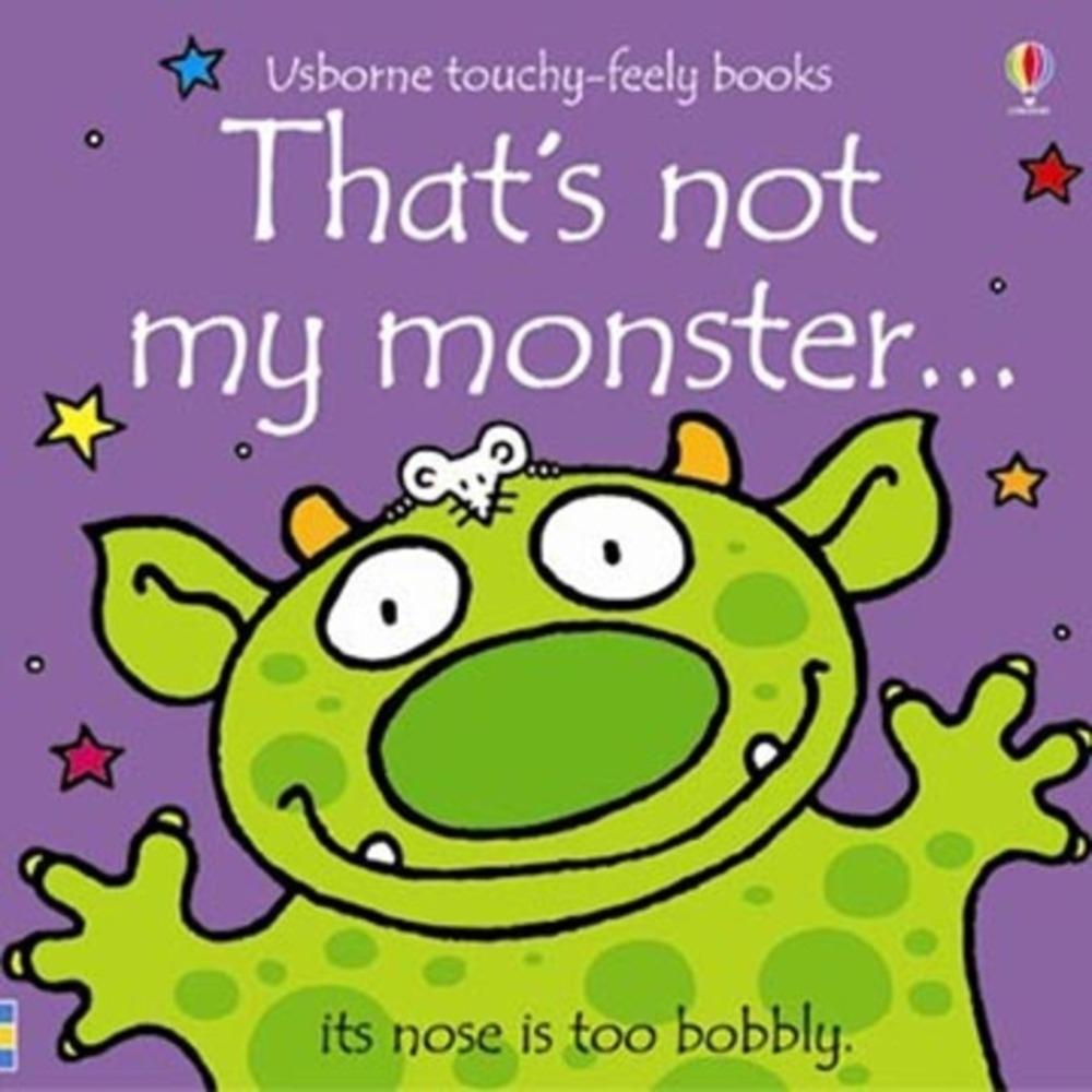That's Not My Monster 那不是我的怪獸觸摸書