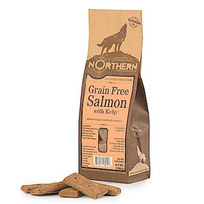 Northern加拿大天然手工餅乾-鮭魚昆布190g