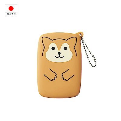 【日本PuniLabo】SMART FIT 隨身小物收納包 淺褐柴犬