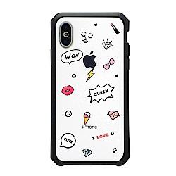 【TOYSELECT】iPhone 7/8 Plus 女王限定宙斯防摔手機殼:時尚女王